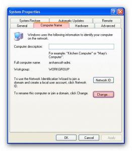 آموزش راه اندازی شبکه در ویندوز XP