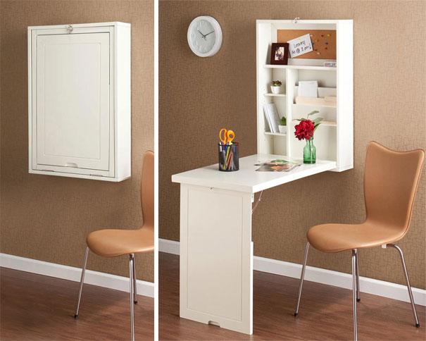 طراحی خلاقانه میز به شکل کابینت
