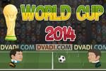 بازی فوتبال کله ها جام جهانی 2014