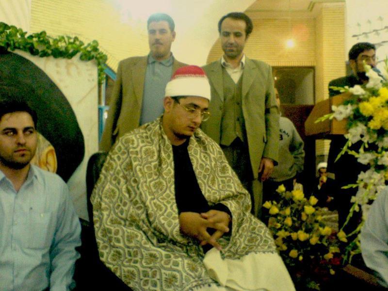 تلاوت دلنشین استاد محمود شحات انور در شهر قزوین/رمضان1387