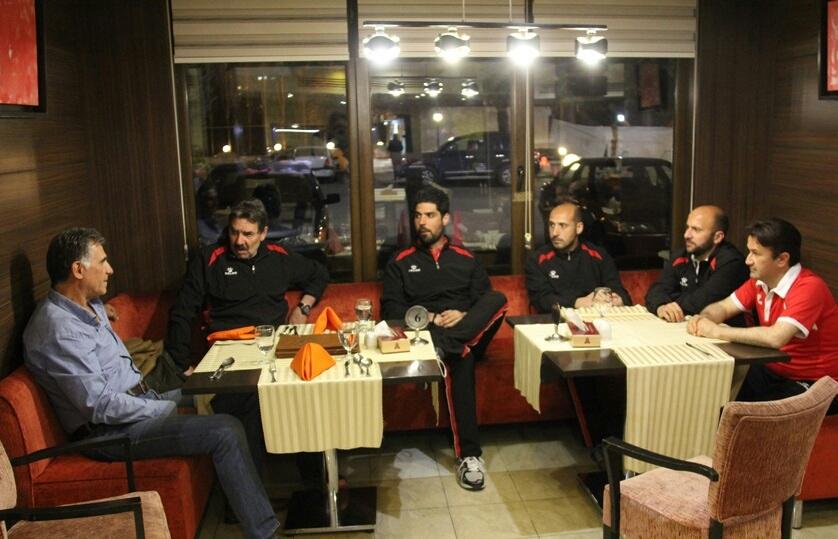 عکس ویژه/ نشست کی روش و تونی اولیویرا در تهران
