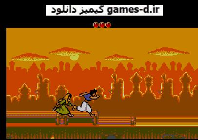 دانلود بازی Aladdin علائدین سگا