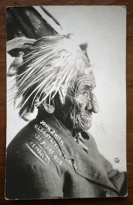 جان اسمیت , رهبر قبیله سرخپوستان
