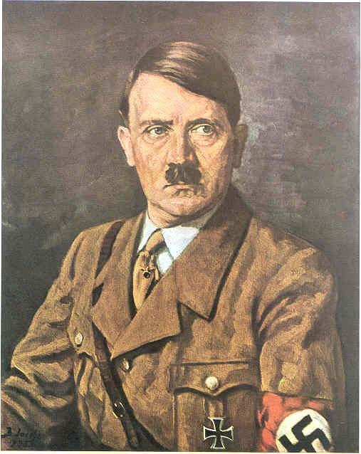 آبرنگ از آدولف هیتلر