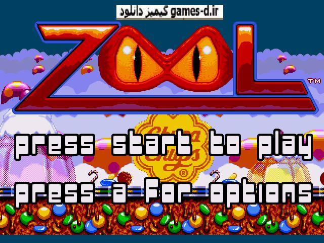 دانلود بازی سگا  Zool - Ninja of the  Nth Dimension