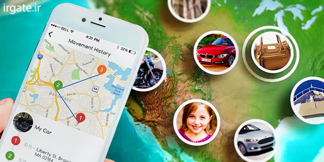 ردیابی افراد از روی نقشه توسط موبایل