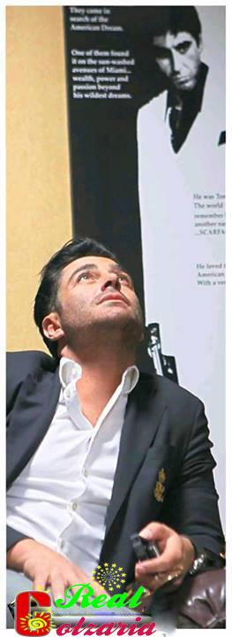 عکس محمدرضا گلزار در روزنامه بانی فیلم