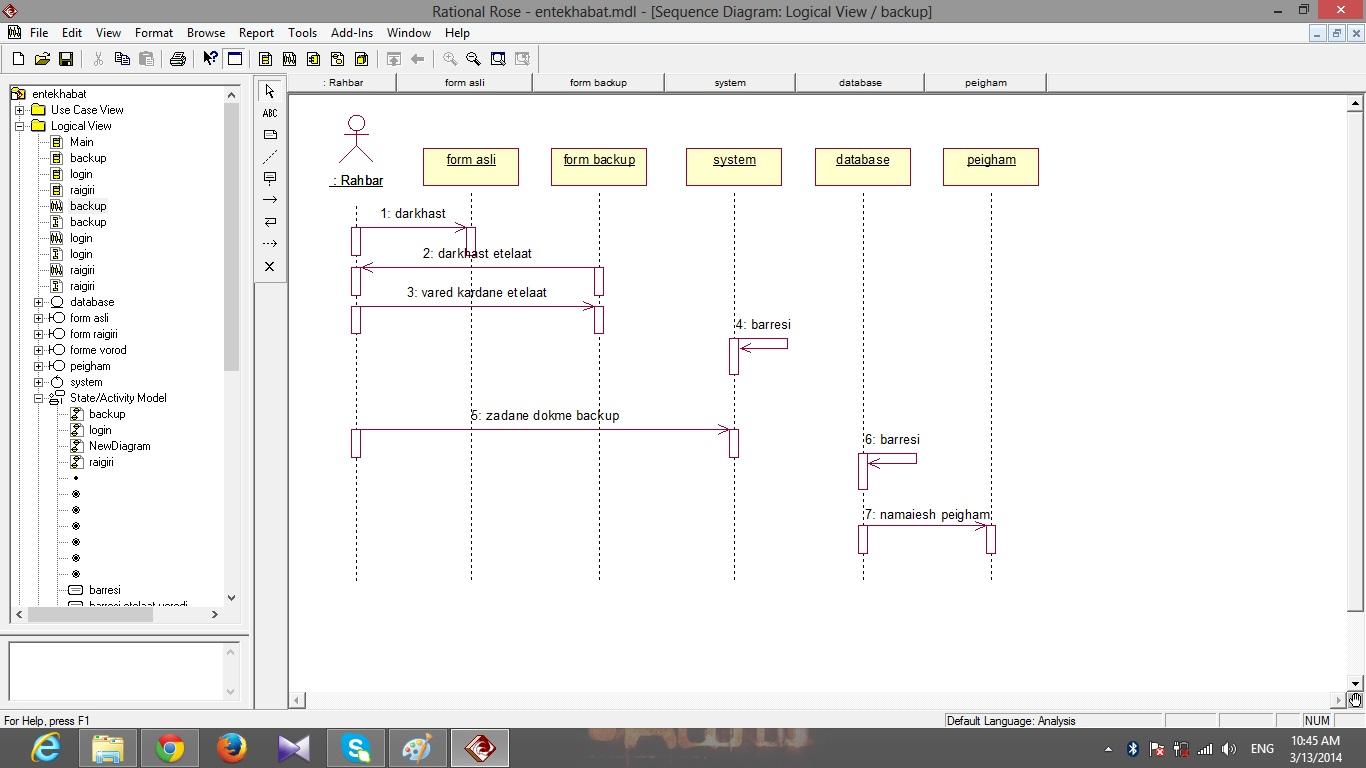 پروژه مهندسی نرم افزار تحلیل انتخابات + فایل رشنال رز و سناریو