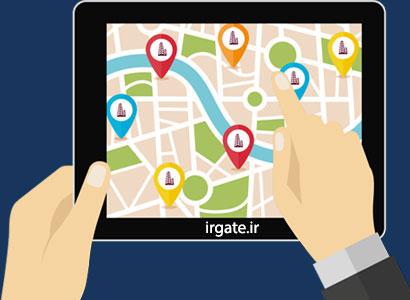 ردیابی افراد از روی نقشه توسط موبایل (اندروید)