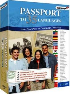 دانلود مجموعه آموزش 35 زبان زنده دنیا Passport to 35 languages