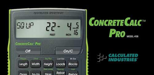 Concrete Calc Pro