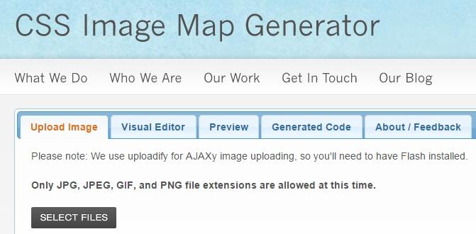 ساخت آنلاین نقشه تصویری