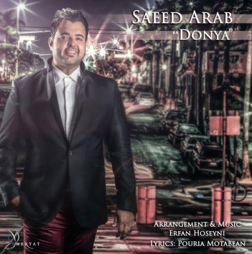 دانلود آهنگ شاد سعید عرب به نام دنیا