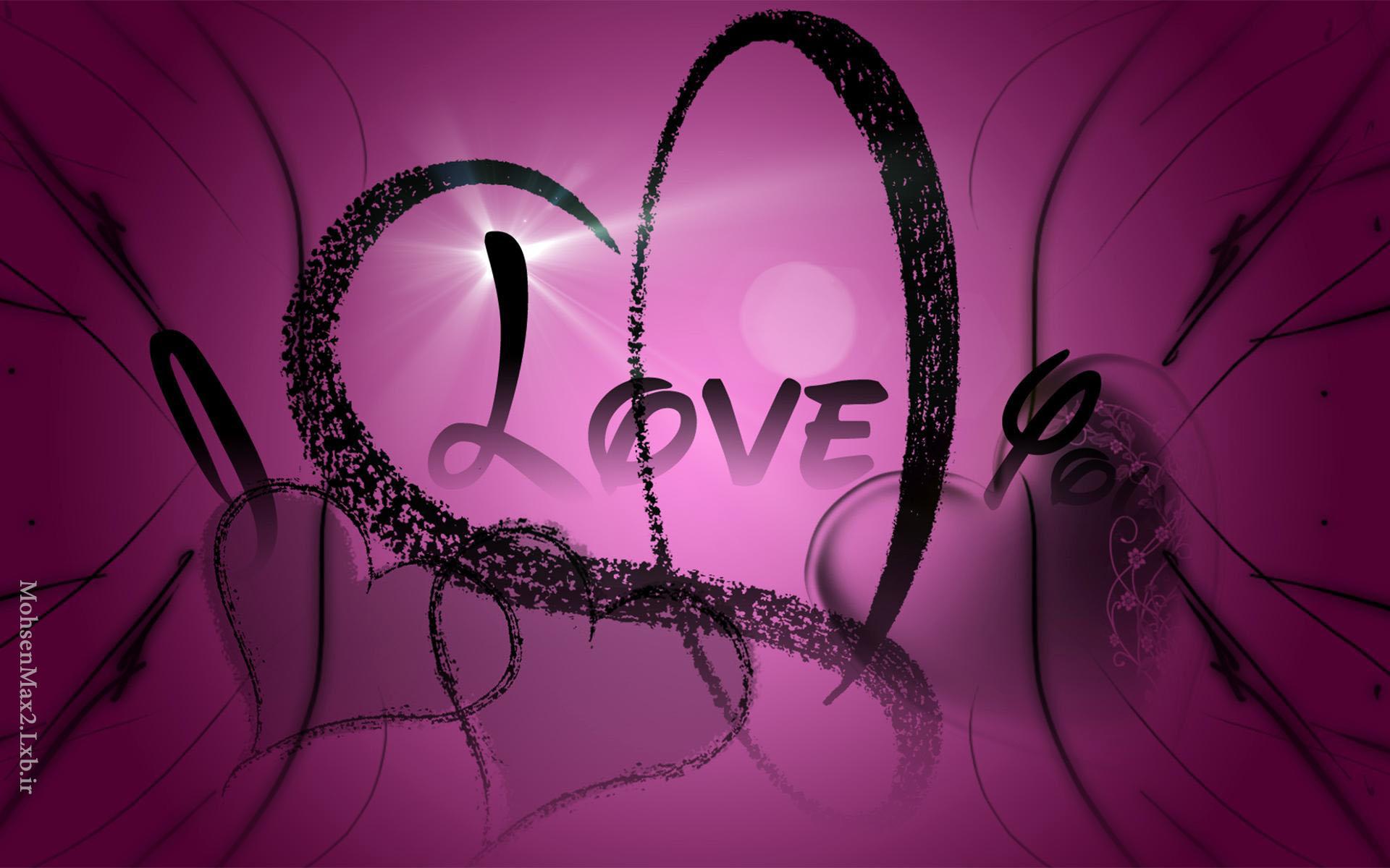 عکس i love you
