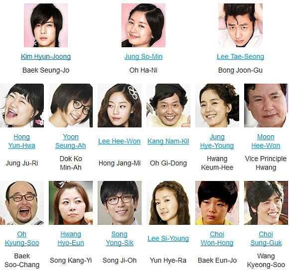 عکس بازیگران سریال کره ای بوسه شیطنت آمیز Playful Kiss 2010