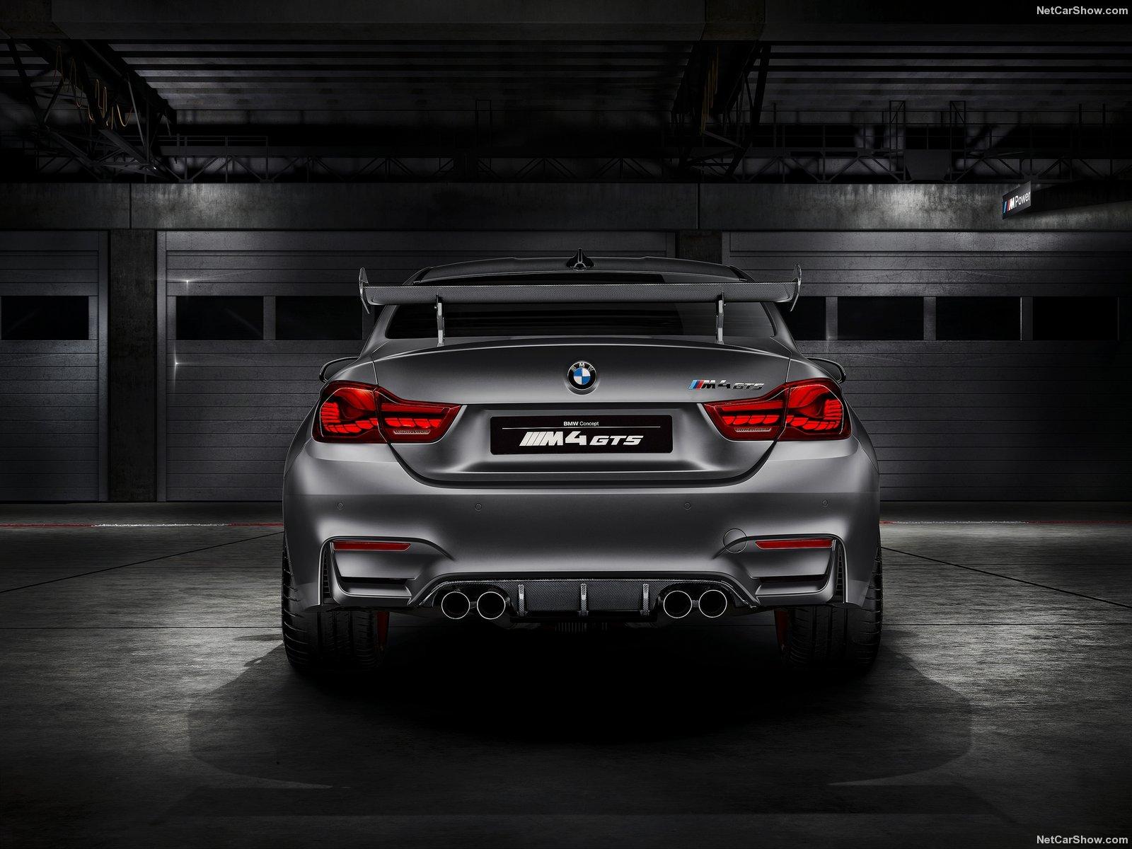 BMW M4 GTS Concept 2015