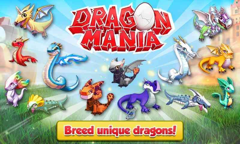 دانلود بازی Dragon Mania V4.0.0 - نسخه پول و کریستال بی نهایت