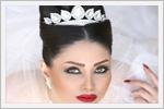مدل عروس مو مشکی