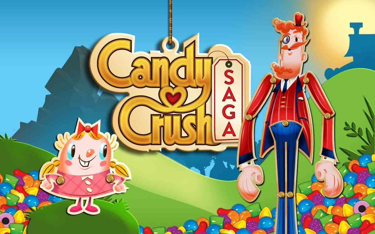 دانلود بازی Candy Crush Saga v1.38.1 - نسخه بیش از حد مود شده