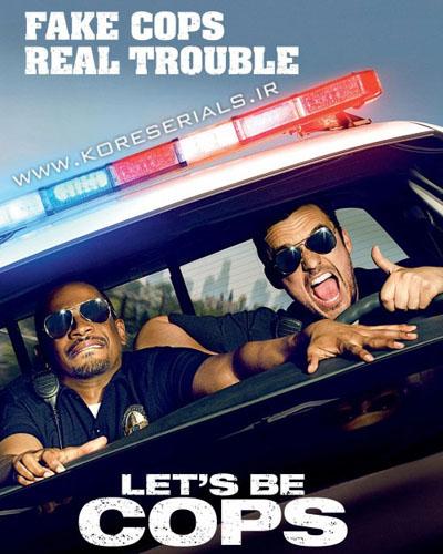 دانلود فیلم بیا پلیس بشیم Let's Be Cops 2014 با زیرنویس فارسی