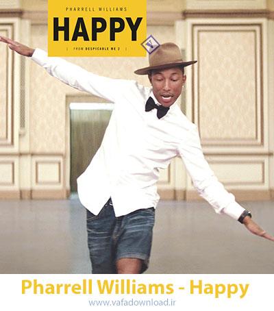 دانلود آهنگ زیبای Happy از Pharrell Williams