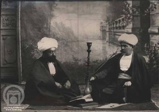 مسيو نوژ بلژيكي در لباس روحانیت که یکی از علل به راه افتادن انقلاب مشروطه شد.