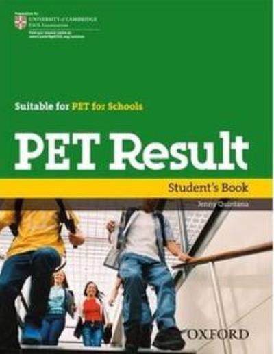دانلود مجموعه آمادگی برای آزمون پت PET Result