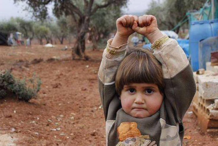عکس دردناک دختر چهار ساله سوری
