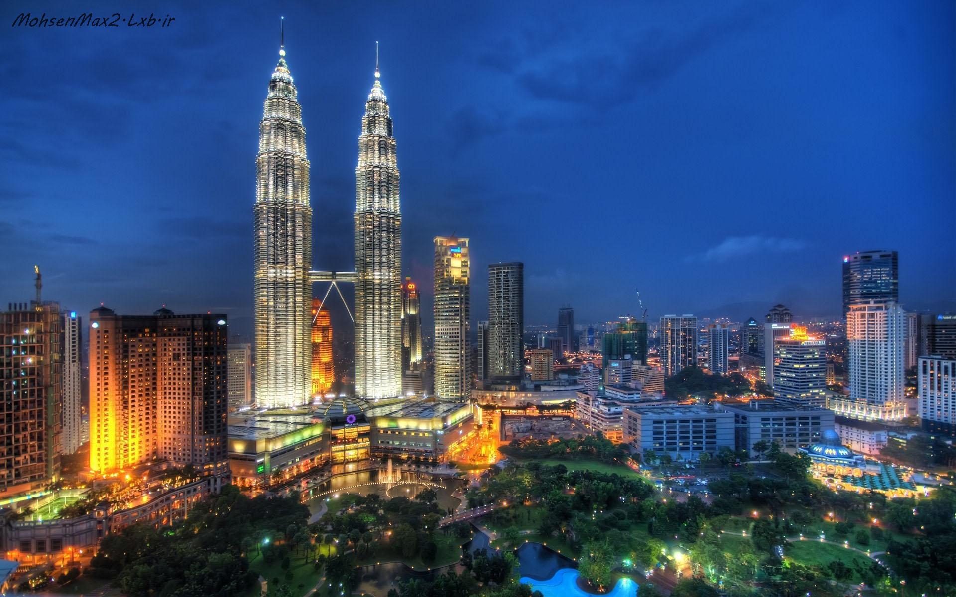 برج پتروناس مالزی دوقلو