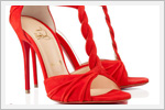 کفش های مجلسی به رنگ قرمز