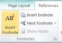 Footnote in Word | درج پاورقی در word