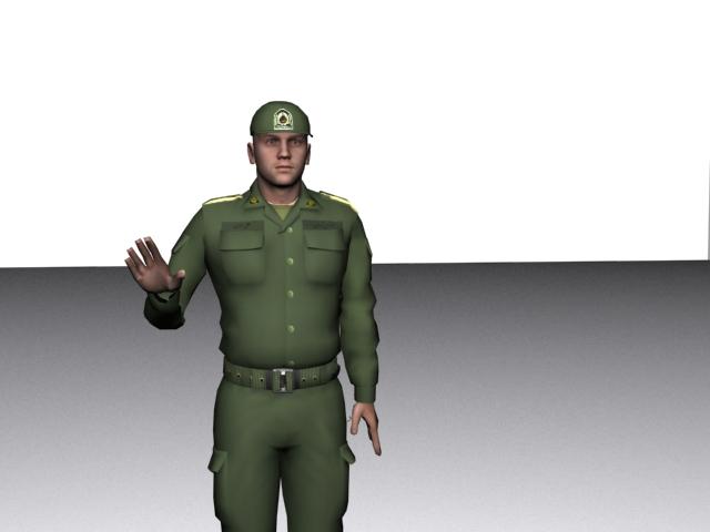 دانلود سرباز ایرانی برای gta sa