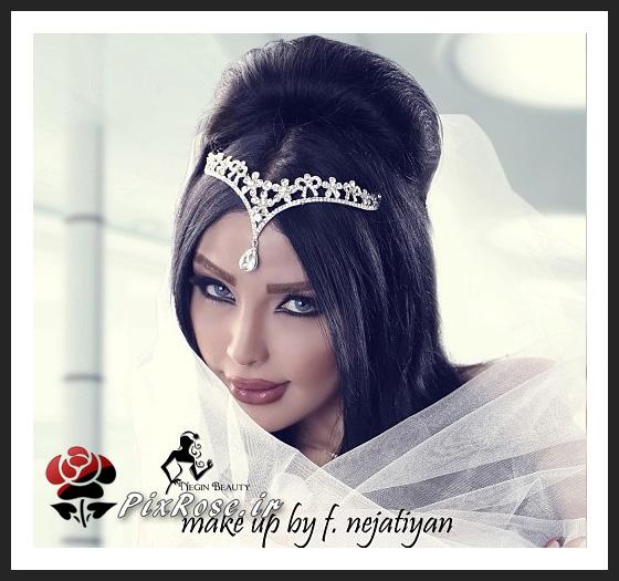 جدیدترین مدلهای تاج عروس
