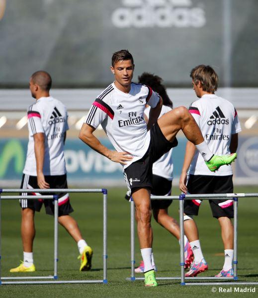 کریس رونالدو تمرین رئال مادرید