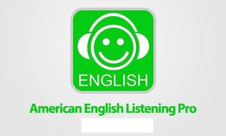 دانلود نرم افزار اندروید آموزش زبان American English Listening Pro
