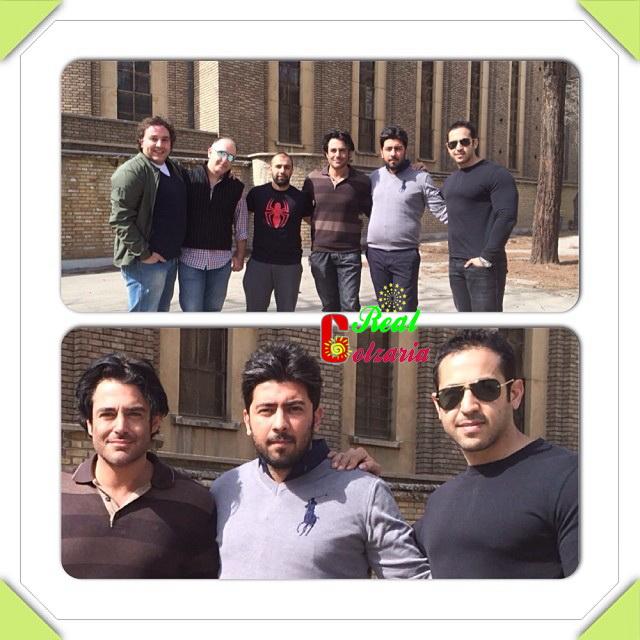 عکس جدید محمدرضا گلزار با دوستان