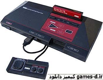 دانلود مجموعه بازیهای کنسول سگا ماستر Sega Master System