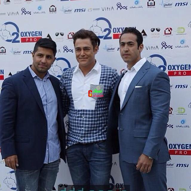عکس محمدرضا گلزار در باشگاه اکسیژن