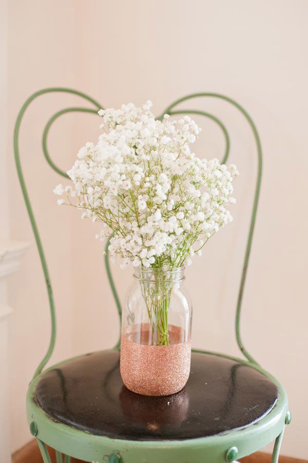 ساخت گلدان براق زیبا با شیشه ساده
