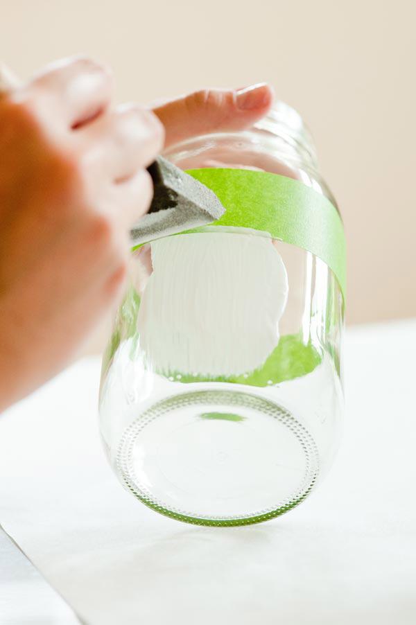 ساخت گلدان شیشه ای زیبا