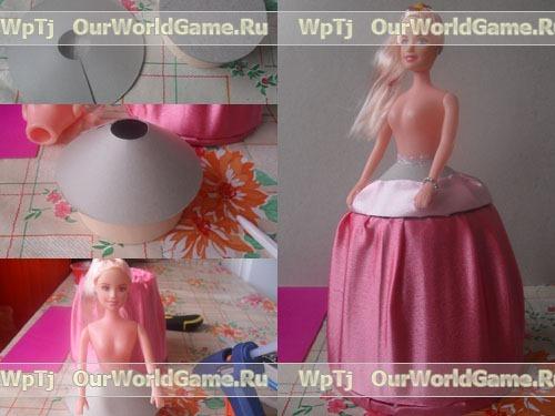 آموزش کاردستی ساخت عروسک باربی