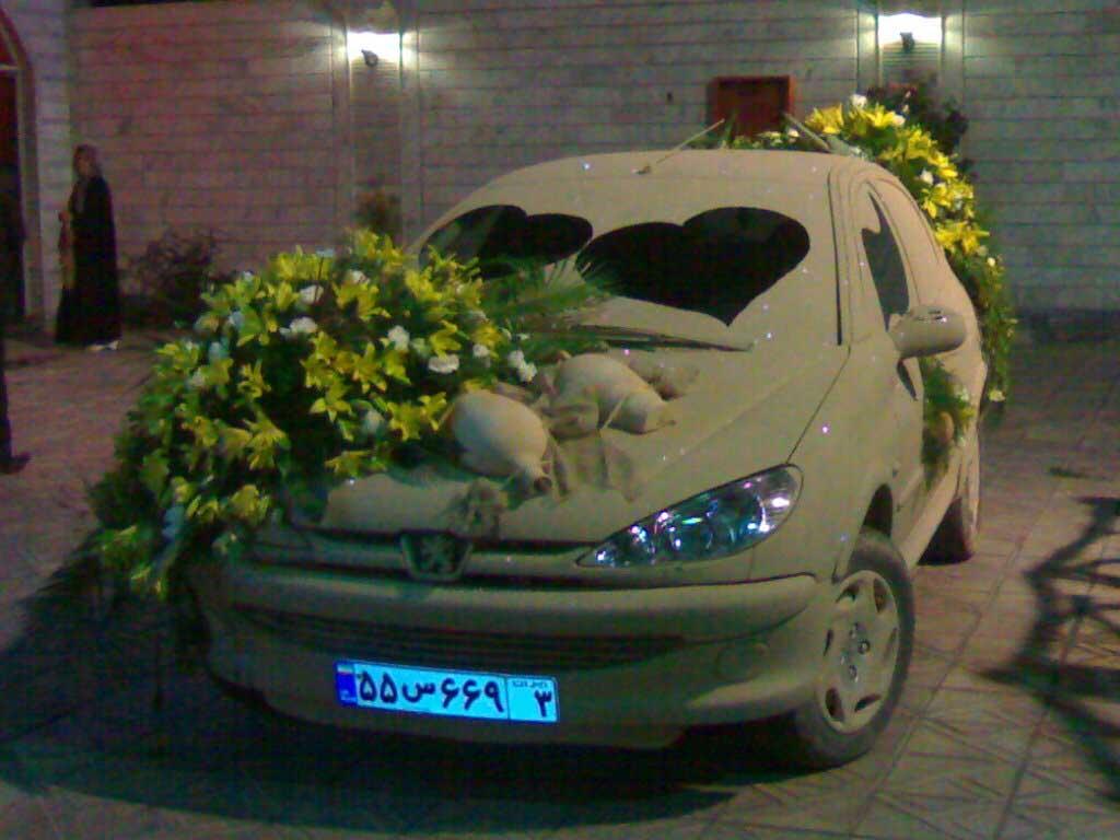 ماشین اسپورت عروسی 206