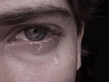 اشک ریختن