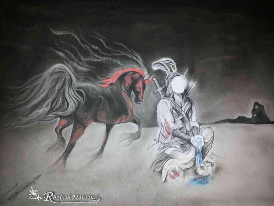 تمثال مبارک حضرت اباالفضل العباس (ع)