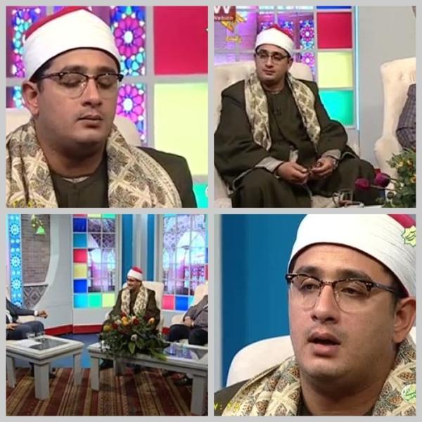 مصاحبه ی استاد محمود شحات با شبکه قرآن/خرداد1394