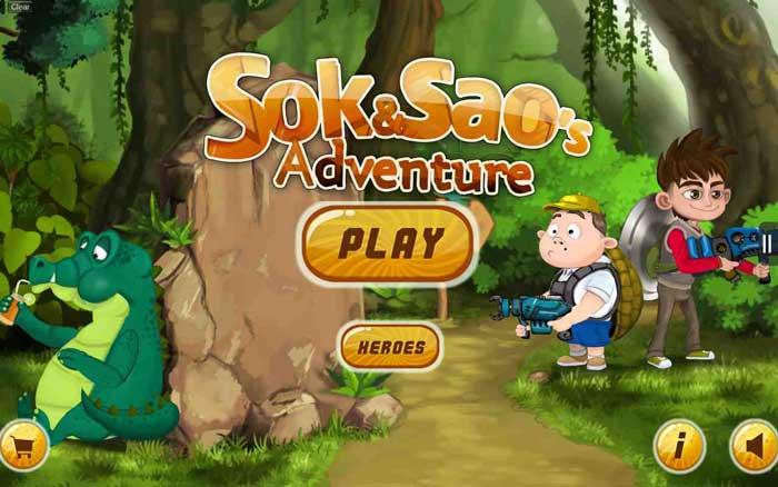 دانلود بازی Sok and Sao's Adventure  - نسخه سکه بی نهایت