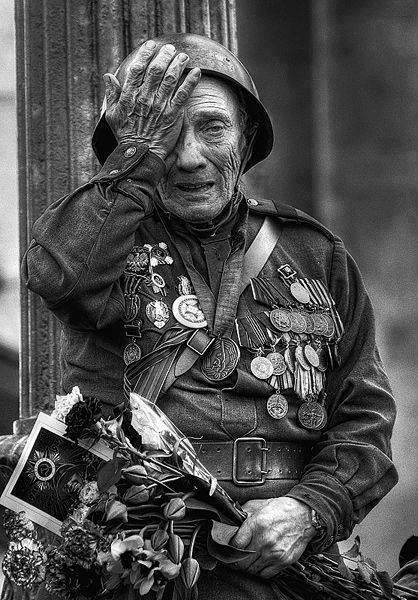كهنه سربازی بازمانده از جنگجهانیدوم