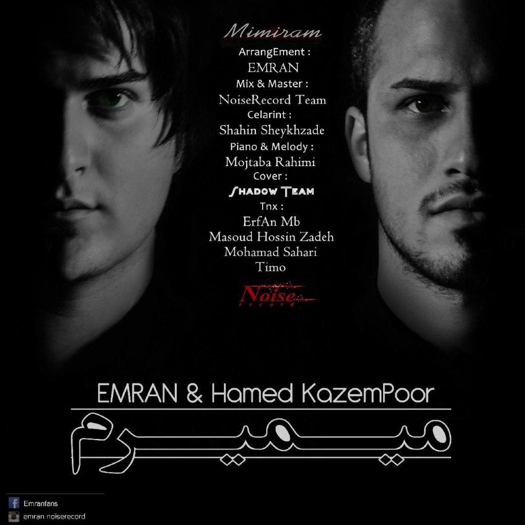 دانلود آهنگ جدید عمران و حامد کاظم پور به نام میمیرم