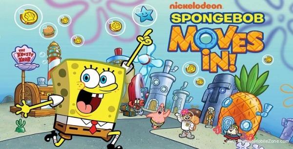 دانلود بازی SpongeBob Moves In v4.20.00 - نسخه پول بی نهایت