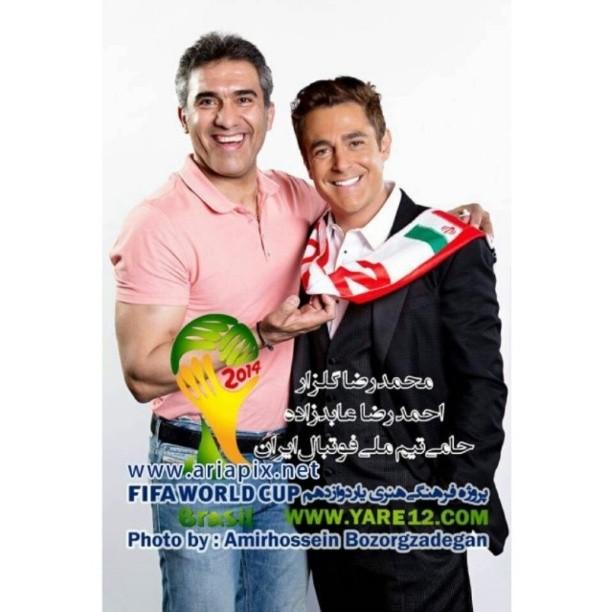 عکس محمدرضا گلزار و احمدرضا عابد زاده